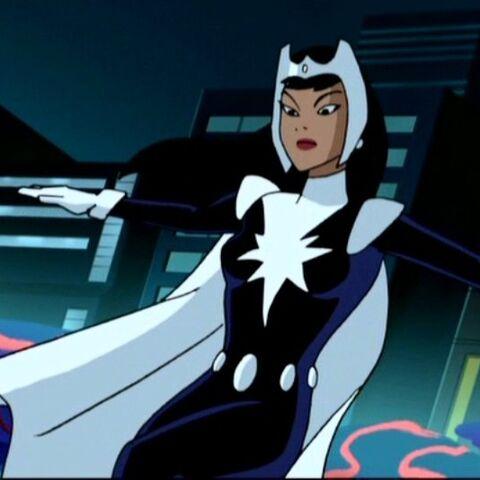 Dr. Light en super héroine dans la série