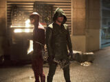 Flash contre Arrow