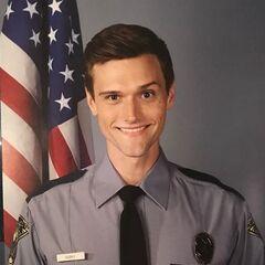 Photo quand il était policier