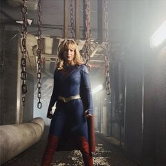 Le nouveau costume de Supergirl