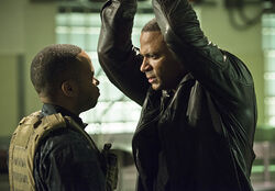 3.Arrow Genesis Andy & John Diggle