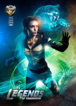 Amaya Jiwe vixen legends of tomorrow saison
