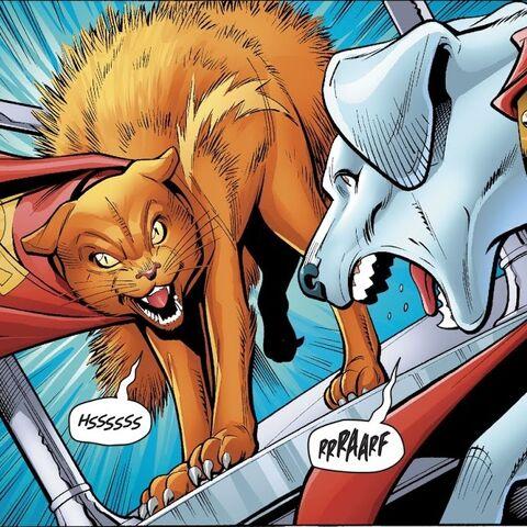 Streaky dans les comics