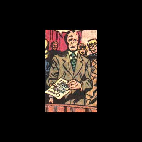 Cyrus Vance dans les comics.