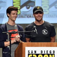 Avec Stephen en 2014