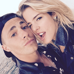 Avec Emily à Londres (juin 2015)