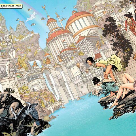 Themyscira dans les comics