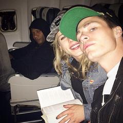Avec Emily et David (novembre 2014)