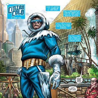 Citizen Cold dans les comics