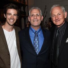 Aux Upfronts 2015 avec Mark Pedowitz et Victor Garber