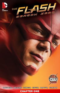 The Flash Season Zero chapter 1 digital cover