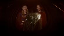 Kara and Mon-El discover Argo City