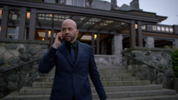 Lex calls Eve to start a plan to frame Supergirl