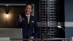 Thawne as the owner of S.T.A.R. Labs