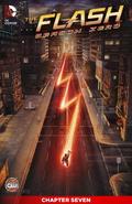 The Flash Season Zero chapter 7 digital cover