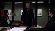 Damien Darhk interrupts