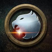 Hawkman y Hawkgirl emblema