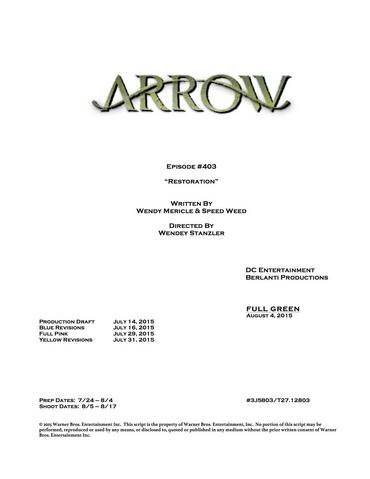File:Arrow script title page - Restoration.png