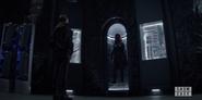 Batwoman suit on display