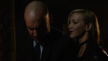 Black Siren confronts Quentin