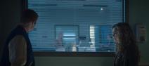 Courtney e Henry nella camera d'ospedale di Brainwave