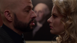 Lex confronts Eve over his plan to destroy Argo City and Superman
