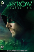 Arrow Season 2.5 chapter 13 digital cover