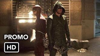 "The Flash 1x08 Promo ""Flash vs. Arrow"" (HD) Flash Arrow Crossover Event"