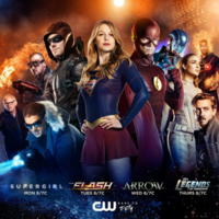 Heroes of the CW promotional