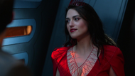 Lena telling Mon-El to break something
