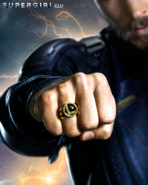 Supergirl season 3 poster - Mon-El with a Legion ring