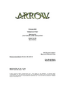 Arrow script title page - Streets of Fire.png