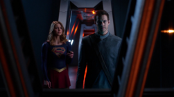 Kara sends Mon-El to safety