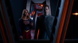 Kara sends Mon-El to safety