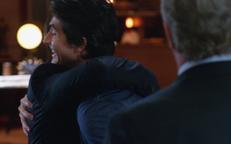 Ray and Nate hug