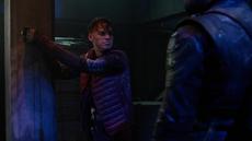 Machin captured by Green Arrow