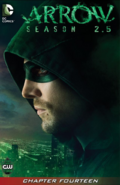 Arrow Season 2.5 chapter 14 digital cover