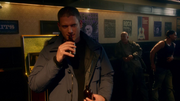 Leonard Snart, Mick Rory and Sara Lance fight in club (2)