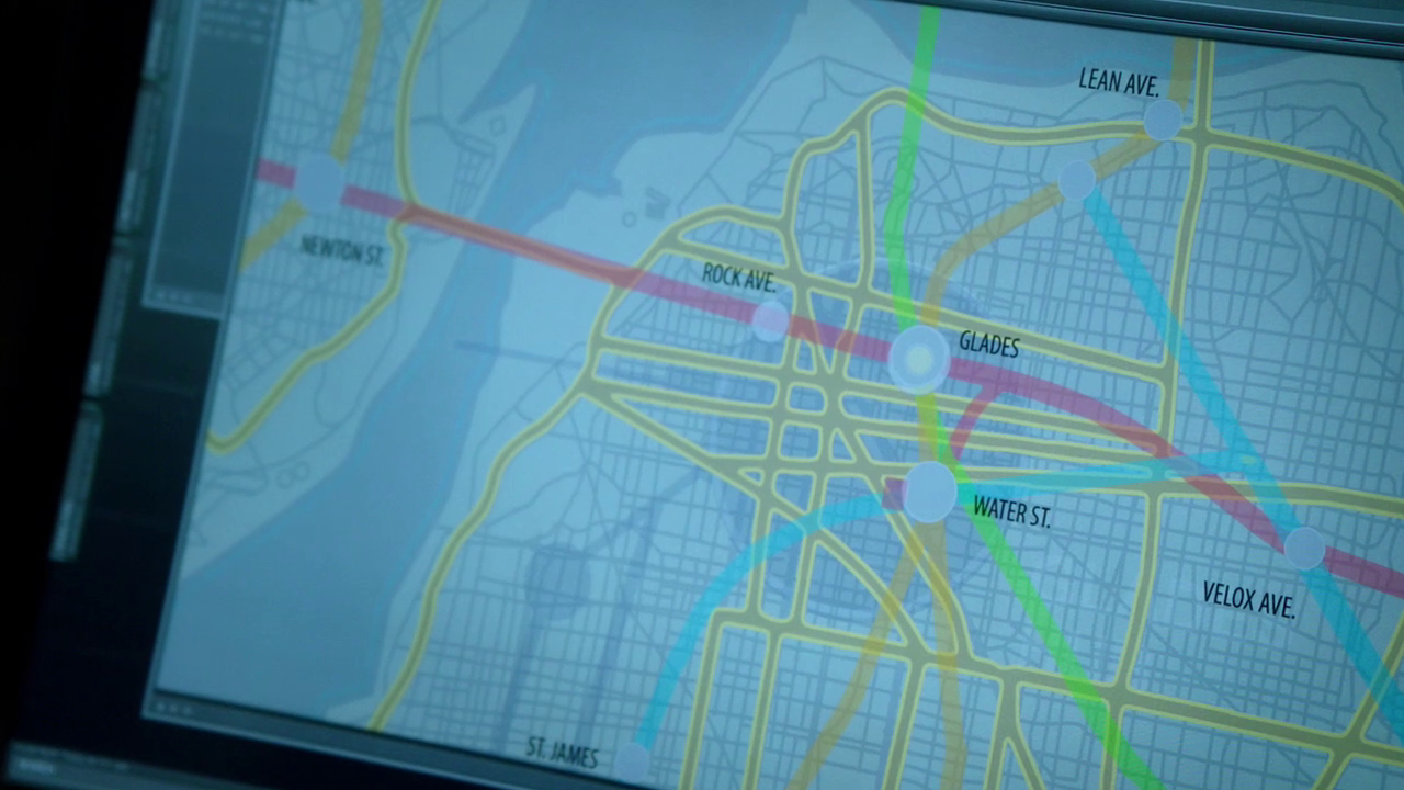 Starling City Map The Glades | Arrowverse Wiki | FANDOM powered by Wikia