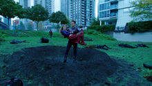 Citizen Steel takes Supergirl before beat to the ground