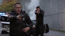 Diaz as a CCPD police officer