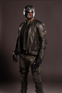 John Diggle season 4 promo - mask and jacket