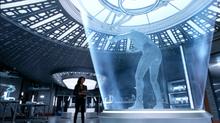 Amaya frees Kuasa from the ice sculpture
