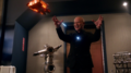 Darhk being attacked by the Waverider.png