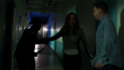 Oliver rescues Laurel and Peter
