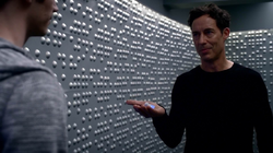 Eobard gives Barry tachyon info