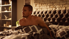 Oliver wakes up with Iris