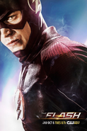 The Flash season 2 poster - You're Getting Warmer