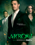 Arrow season 1 promo - This disaster has his family name all over it.