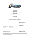 DC's Legends of Tomorrow script title page - Marooned.png
